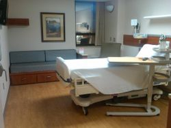 New Patient Rooms on Lexington's Oncology Wing