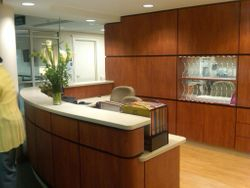 Front Desk for New Oncology Wing