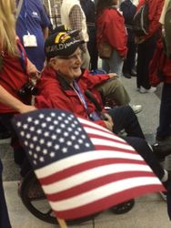 Agape Senior of Lexington Resident Takes Part in Honor Flight