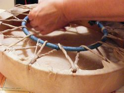 Making a Shamanic Drum