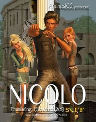 1st place Film poster NICOLO by Anches - SIFF Spring 2013