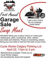 Garage Sale - April 22