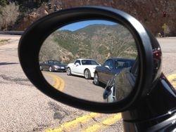 Going to Pikes Peak Mountain.