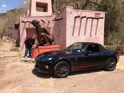 Ute Chief Mineral Springs...and my car.
