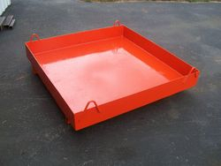 Small Steel Storage Pan