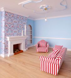 London Town House: Drawing Room