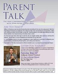 Parent Talk May 2014