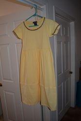 t-shirt Dress with Spliced Skirt