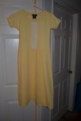 t-shirt dress with A-line Skirt