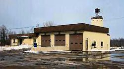 Our CHFD Fire Station in the late 1960s.