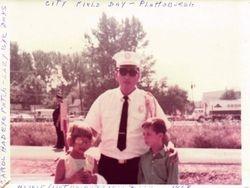 CHFD Asst Chief Jim Leggett and family