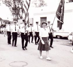CHFD marching in Peru Parade