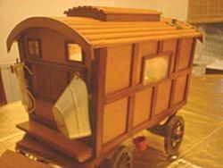 romany caravan/vardo