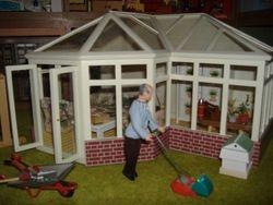 granpa & his conservatory