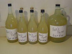 Ben's Farm Pear Wine