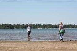 probno kupanje u Baltiku