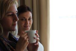 jutarnja kafa na brodu...