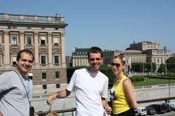 s' leva na desno: Nikola, Jelena, Dusan i Mira