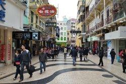 Macao - glavna pesacka ulica