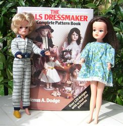 a book of doll patterns