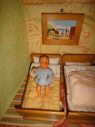 little ARI doll, made of hard plastic