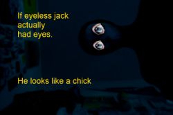 Jack with eyes