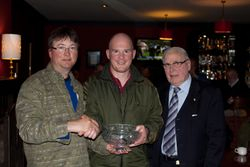 Kevin Sheridan Winner Oct Compt with Michael McCabe Frank Kelly