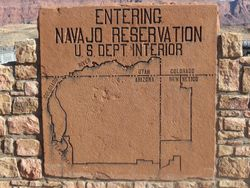 The Navajo country