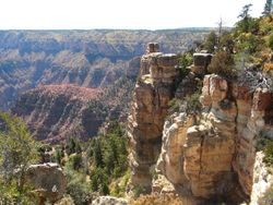 North Rim look out
