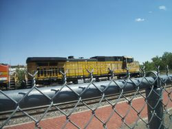 The rare BNSF 4437!