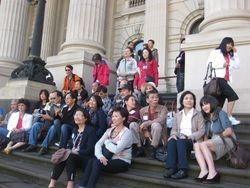 Mat tien Melbourne Parliament
