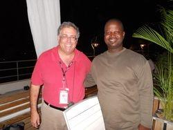 CBS News Correspondent Peter & Sebastian's brother Johnson Petion