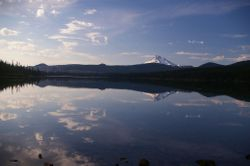 Mt Jefferson and Olallie lake