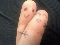 my fingers :P