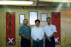 Sigung Kevin, Sigung-pak YC and Sifu Clay