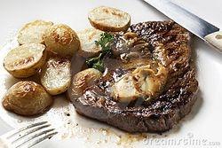 Biefstuk met ansjovisboter