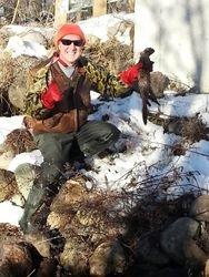 Jim with buck mink (12-28-2013)