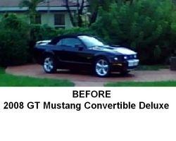 2008 GT Mustang Deluxe Convertible