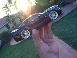 Black Shelby GT500KR