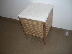 IKEA bathroom storage stool - AED 100