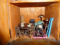 Tootsie Toy Dollhouse Furniture 1920's