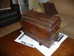 c1898 Singer Sewing Mahine Box
