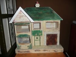 Moko Dolls House with added paint removed