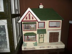 Completed Moko 1930's Dolls House Restoration