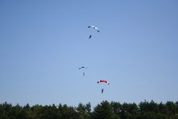 Skydive cruise