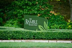 The Ramble Entrance Sign