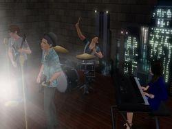 Blue Jean Basement Concert Shot 3