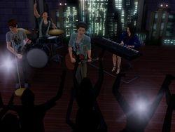 Blue Jean Basement Concert Shot 4
