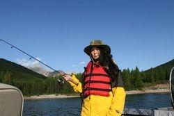 Ang catching no fish