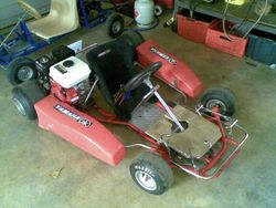 Anouk's Cadet Cart... with some finishing to do